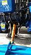 Мототрактор LIDER-LUX 150 с регулировкой передней колеи, фото 6