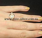 Гарнитур из серебра с жемчугом Виола, фото 3