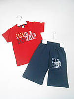 Polo костюм футболка и шорты от 2 до 8 лет