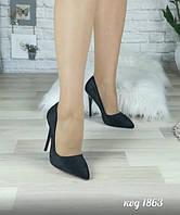 Женские Туфли лодочки на шпильке Черные - Распродажа 37