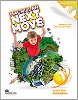 Macmillan Next Move 1 Pupil's Book with DVD-ROM. British Edition (Проект №1)