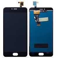Дисплей (Lcd) Meizu M3S black +touchscreen