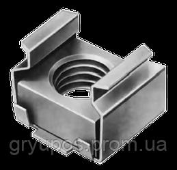 Гайка закладная М6. 04 цб 0,7-1,6 13,2х12