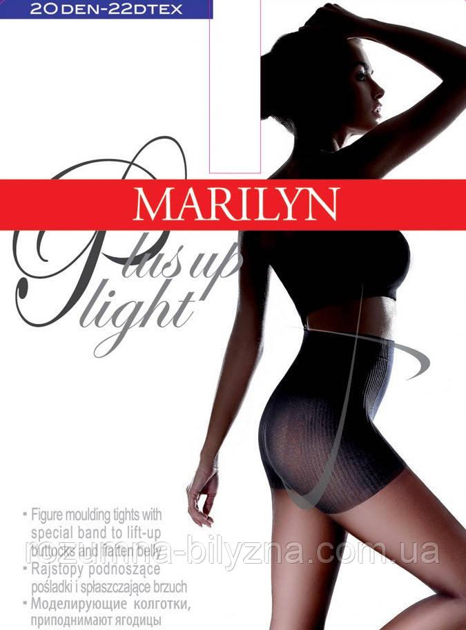 Marilyn PLUS UP LIGHT NEW (20 den) женские колготки натуральный (visone)