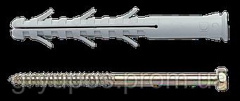 Дюбель APS-H с шурупом (Е) 8х80 нейлон