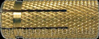 Дюбель ETO М4х15  d5  латунь