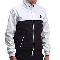 Ветровка мужская Adidas black-white
