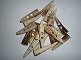 Пуговица натуральная костяная для навесной застежки, 5см , фото 4