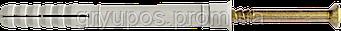 Дюбель с ударным шурупом, потай 6х40 нейлон