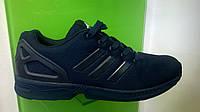 Мужские кроссовки Adidas Flux синие,размеры 41-46, фото 1