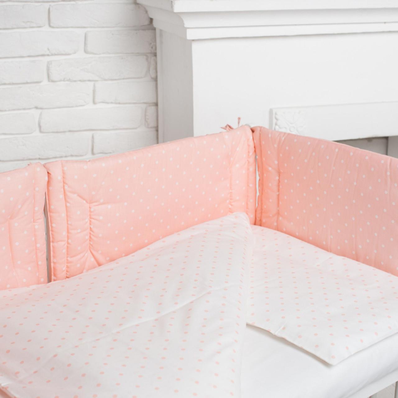 Комплект білизни в дитяче ліжечко (Ніжність)