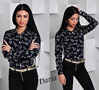 Молодежная модная рубашка 8821