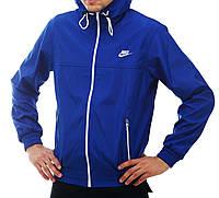 Ветровка мужская Nike синяя