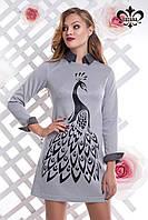 Модное женское платье Айвори Luzana 42-50 размеры
