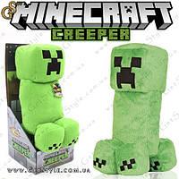 """Плюшевый Крипер из Minecraft - """"Creeper Box"""" - 38 см. + оригинальная упаковка, фото 1"""
