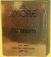 Мужская уалетная вода I.M.Trade AMORE PLATINUM 100мл (карт.уп)
