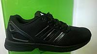 Мужские кроссовки Adidas Flux черные,размеры с 41-45