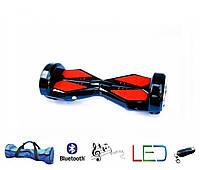Гироскутер Lambo 8′ черный (Led, Bluetooth, пульт, сумка)