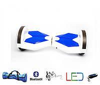 Гироскутер Lambo 8′ белый (Led, Bluetooth, пульт, сумка)