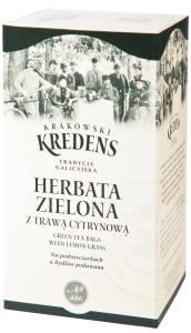 Зелёный чай с лимонной травой Krakowski Kredens – 50г