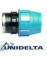Муфта зажимная с внутреней резьбой 40х1/1/4 Unidelta