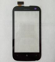 Тачскрин / сенсор (сенсорное стекло) для Nokia Lumia 510 (черный цвет)