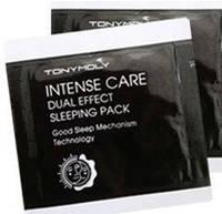 Маска ночная несмываемая для любого типа кожи TONYMOLY Intense Care Dual Effect Sleeping Pack 1мл, фото 1