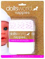 Подгузники для куклы DollsWorld (8715), фото 1