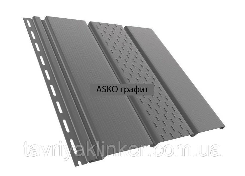 Панель ASKO графитовая перфорованная/неперфорированная