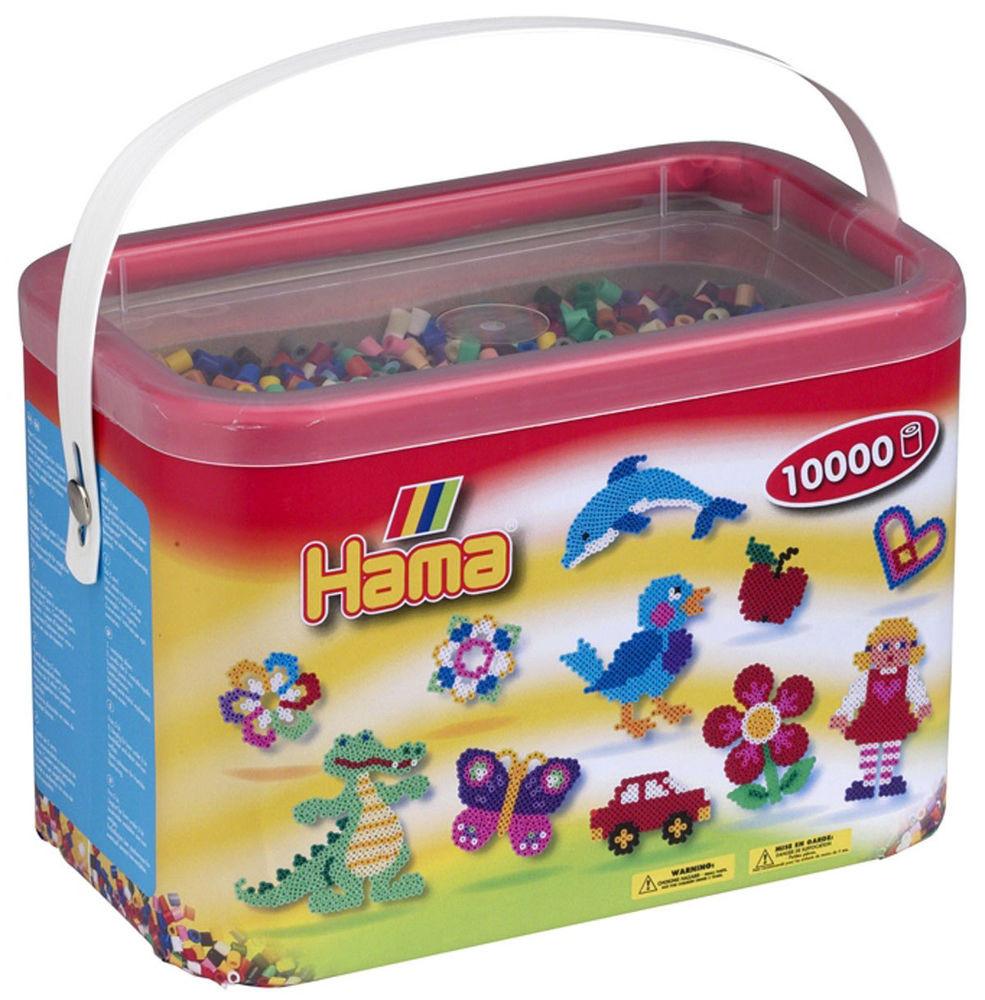 Термомозаика Hama Набор цветных бусин 10.000 шт midi, 22 цвета (202-67)