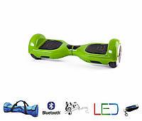 Гироскутер Classic 6.5′ зеленый  (Led, Bluetooth, пульт, сумка)