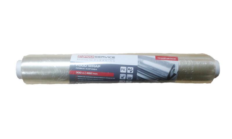 PRO Плівка харчова PVC 300 м х 45 см, 9 мкм (10 шт/ящ)