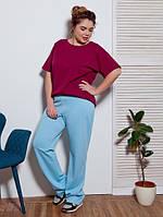 Женские прямые широкие брюки Sherid (разные цвета)