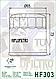 Масляный фильтр Hiflo HF303С для Honda, Access, Apache, Bimota, Kawasaki, Polaris, Yamaha., фото 3