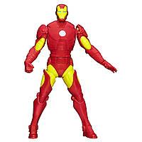 !Уценка! Подвижная фигурка Железный Человек 15СМ - Iron Man, Avengers, Assemble, Squeeze Legs, Hasbro