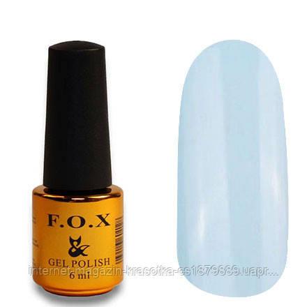 Гель-лак FOX Pigment 145 бледно-голубой глянец