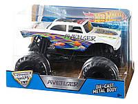 Hot Wheels Monster Jam 1:24 Avenger Металлический внедорожник (США)