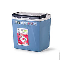 Автохолодильник Shiver 26L 12/230V: охлаждение на 16°C ниже температуры улицы, 29,7х39,5х46 см