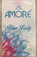 Женская туалетная вода AMORE BLUE LADY I.M.Trade 100мл (карт.уп)