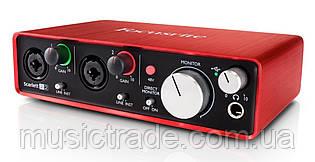 Аудиоинтерфейс Focusrite Scarlett 2i2 Gen. 2