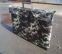 Чехол на мангал чемодан на 6 шампуров