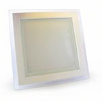 Светодиодные светильники встраиваемый Glass 18W 3000К