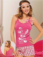 """Пижама женская футболка с шортами """"Maranda"""", Турция, размер XL"""