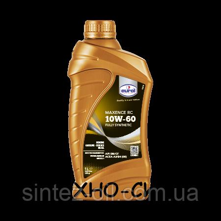 Синтетическое моторное масло Eurol Maxence RC 10W-60 (1л)
