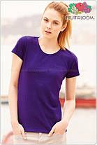Женская футболка классическая 100% хлопок 61-372-0, фото 2