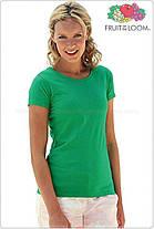 Женская футболка классическая 100% хлопок 61-372-0, фото 3