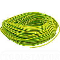 Провод ПВ-3 6,0 желто-зеленый