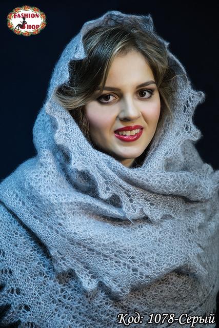 Оренбургские пуховые шарфы (палантины)