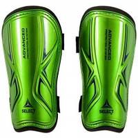 Щитки футбольные Select Standard (зеленые) р.L