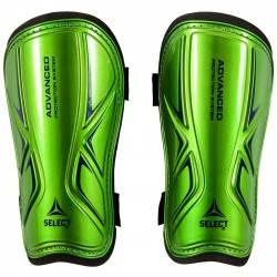 Щитки футбольные Select Standard (зеленые) р.L, фото 2